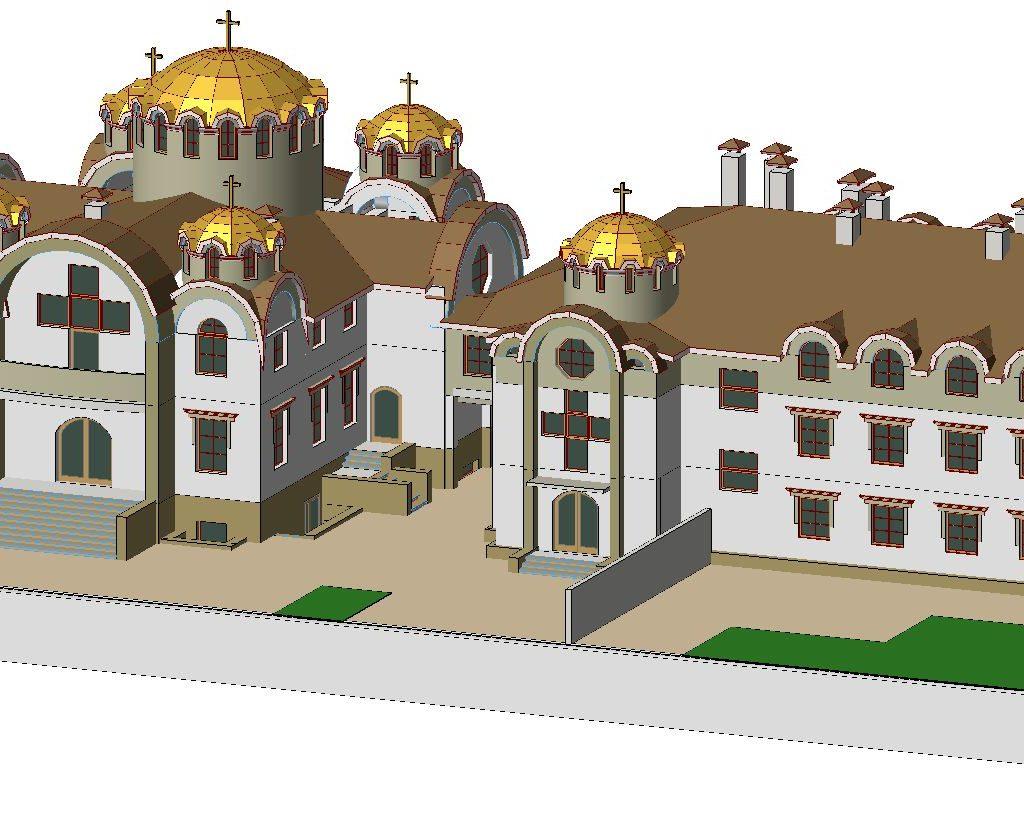проект майтунього монастиря і церкви 2