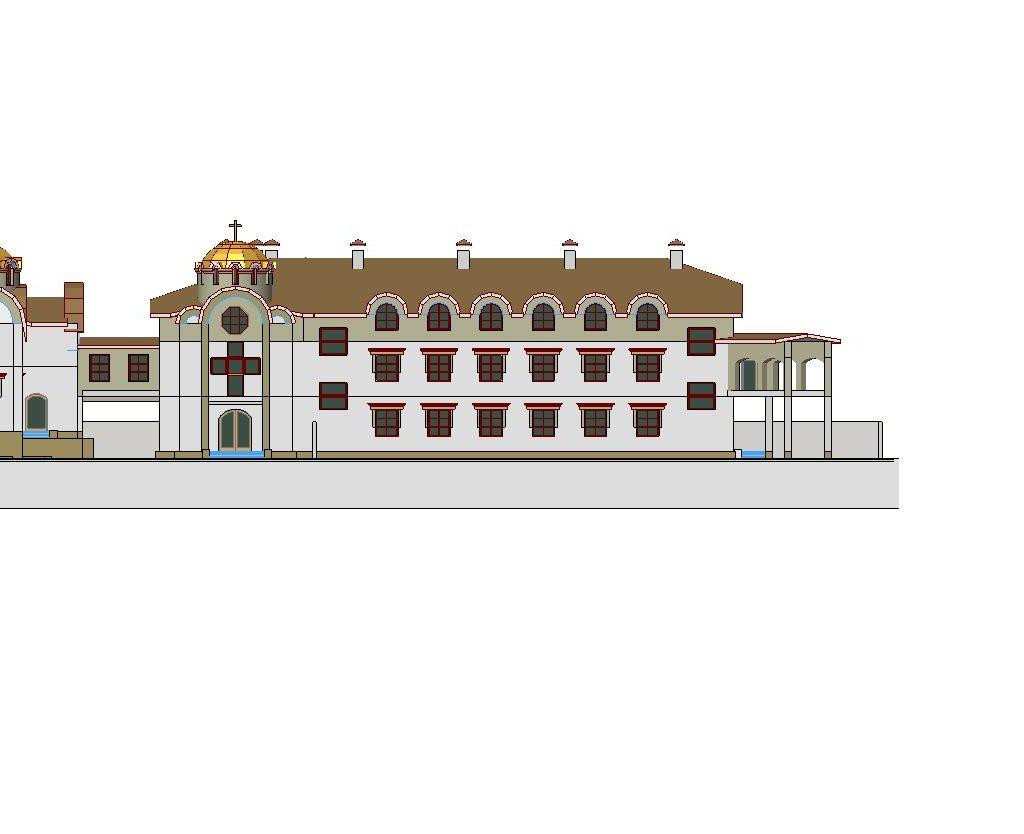проект майтунього монастиря і церкви 3