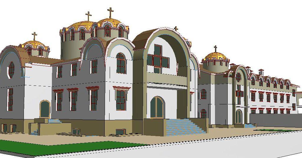 проект майтунього монастиря і церкви 4