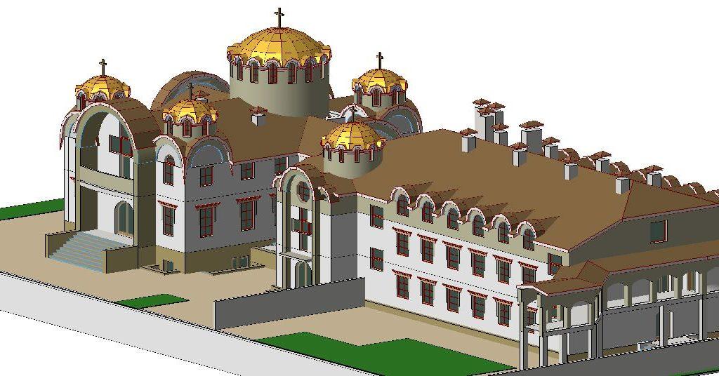 проект майтунього монастиря і церкви 5